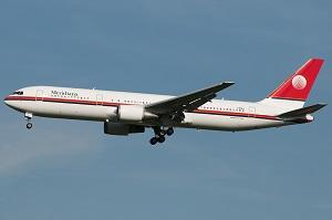 Meridiana's 767