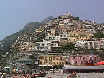 Mountainside of Positano