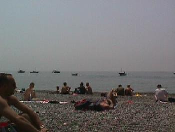 The Beach & Sea at Positano