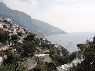 Coastal View of Positano