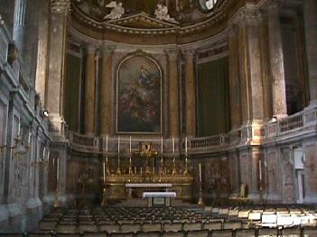 Chapel Inside the Royal Palace of Caserta