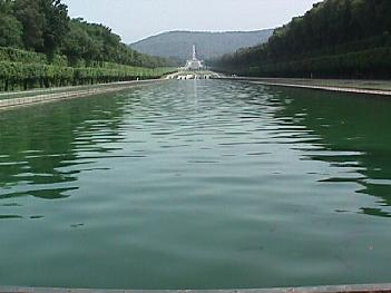 Pond & Waterfall at the Royal Palace of Caserta