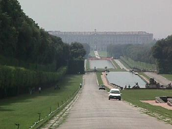 Grounds at the Royal Palace of Caserta