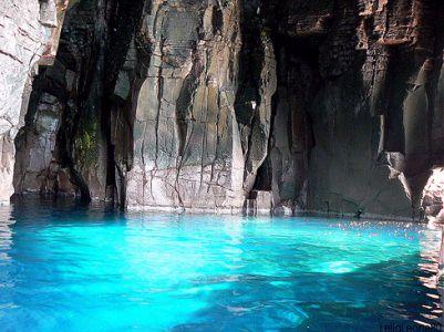 Grotte della Mezzaluna in Carloforte, Sardinia