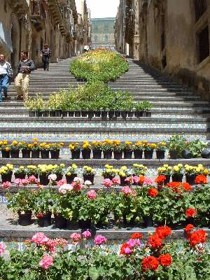 142-step Staircase of Santa Maria del Monte in Caltagirone