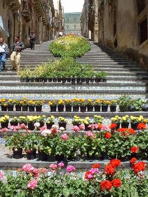 142-step Staircase of Santa Maria del Monte in Caltagirone