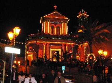 The Chiesa del Carmine at Night