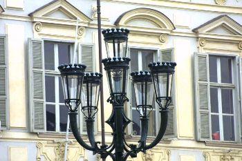 Piazza San Carlo Lamppost