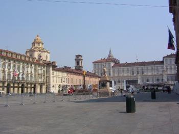 Piazza Castello Turin
