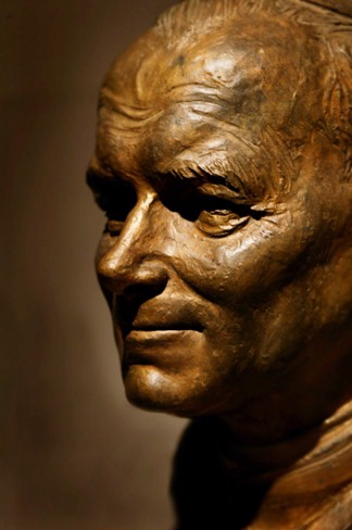 Bust of Pope John Paul II, Vatican Splendors