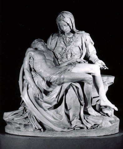 Cast of Pieta from Saint Peter's Basilica, Vatican Splendors