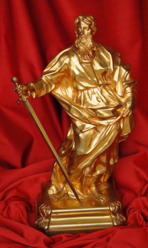 Statue of Saint Paul, Vatican Splendors