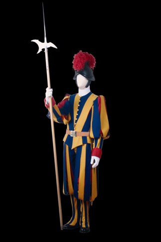 Halberdier, Half-dress, Vatican Splendors